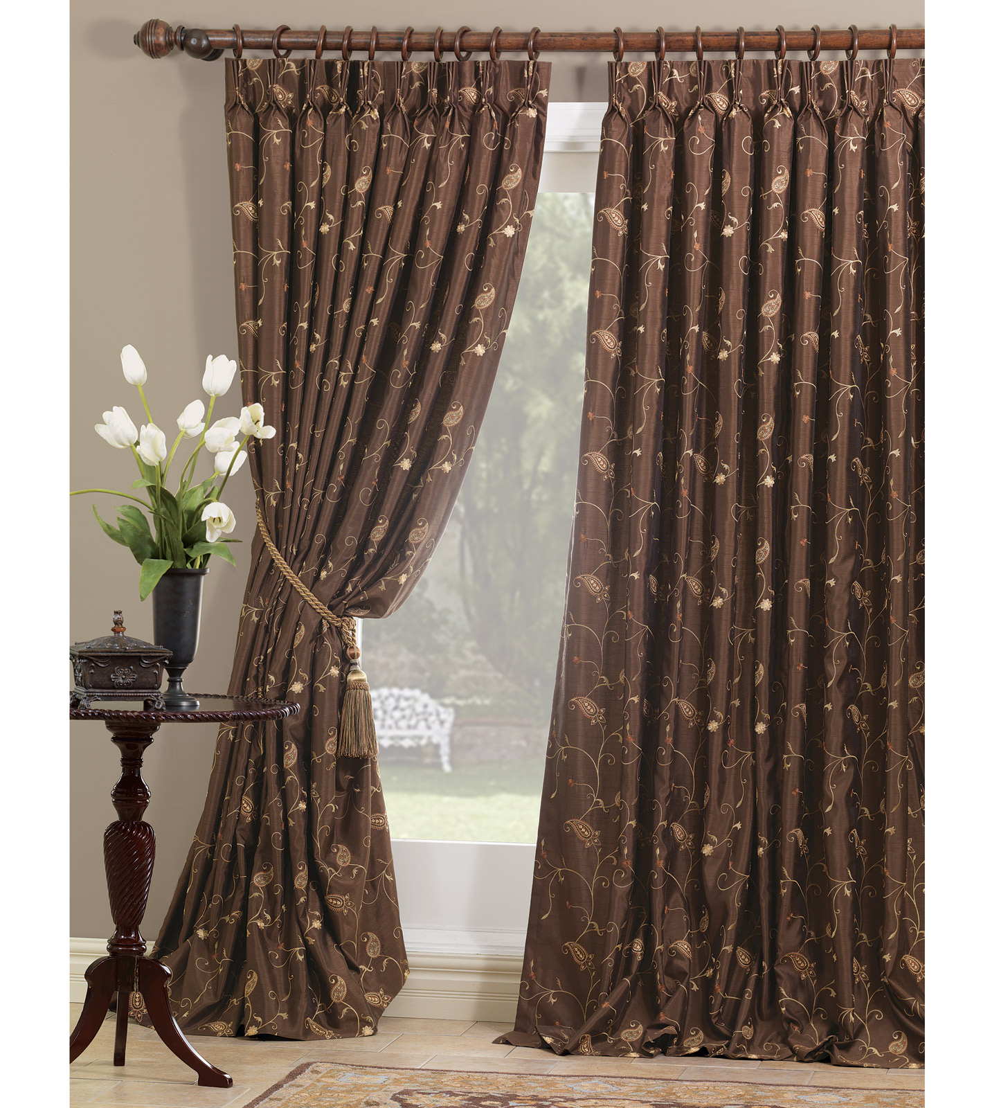 studio background curtains luxury bedding by eastern accents cecilia