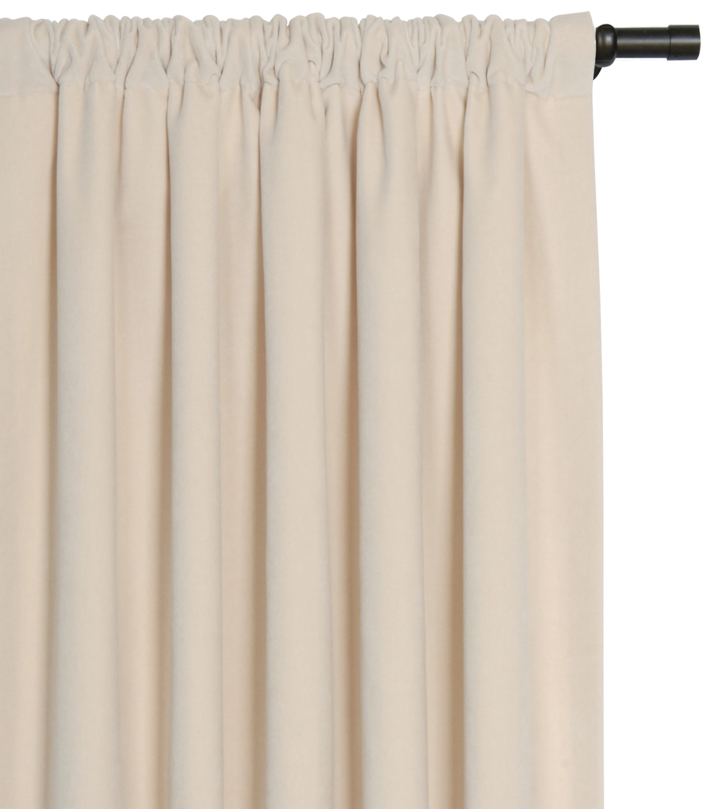 Scalamandre Maison by Eastern Accents - JACKSON IVORY CURTAIN PANEL