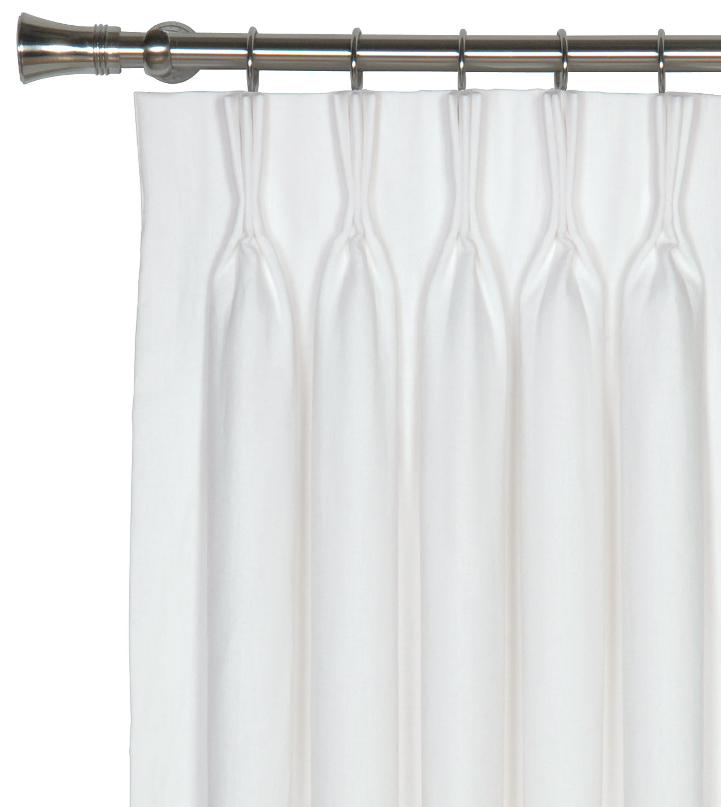 White Curtain Breeze white curtain panel