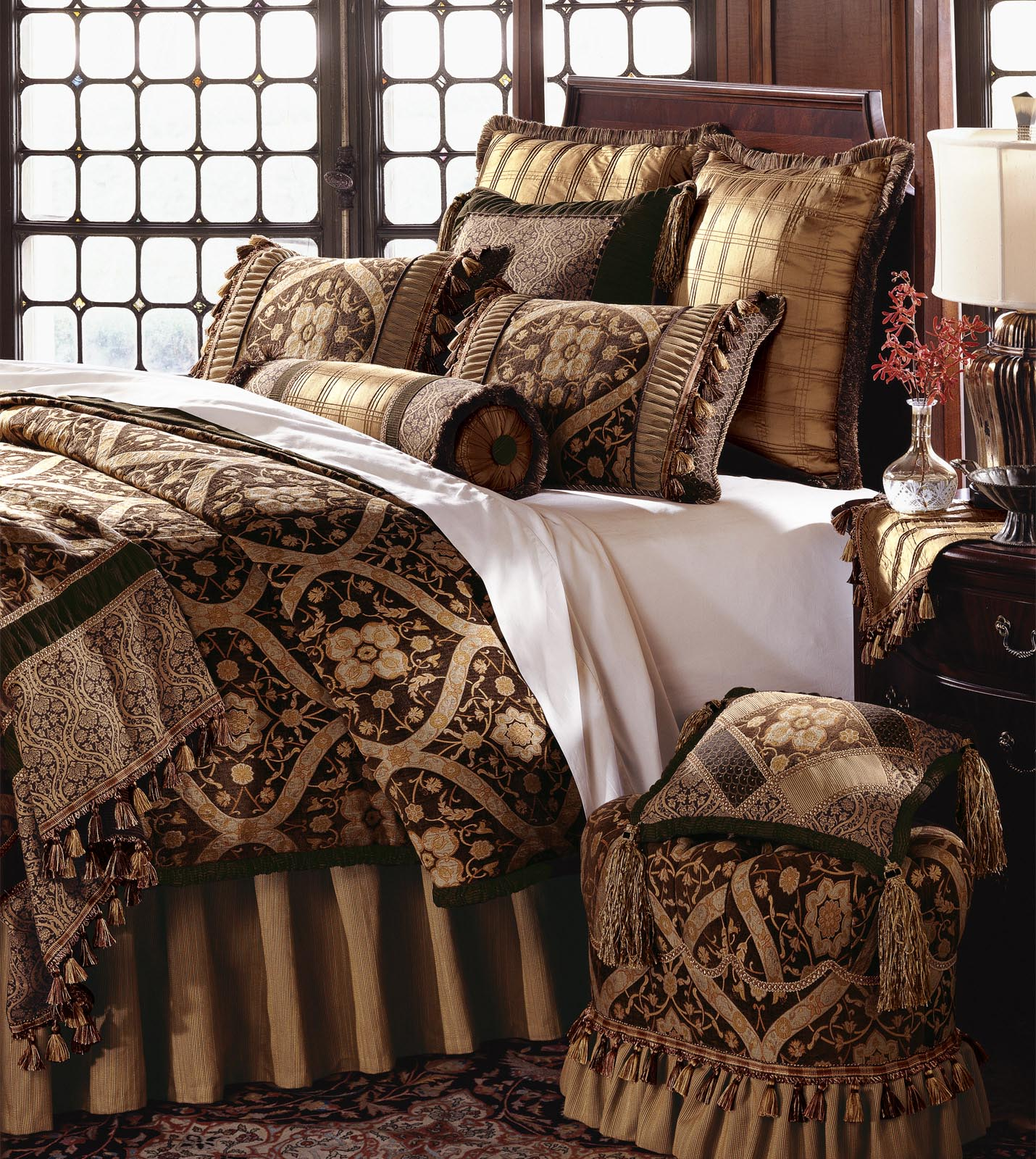 Luxury Bedding By Eastern Accents Garnier Duvet