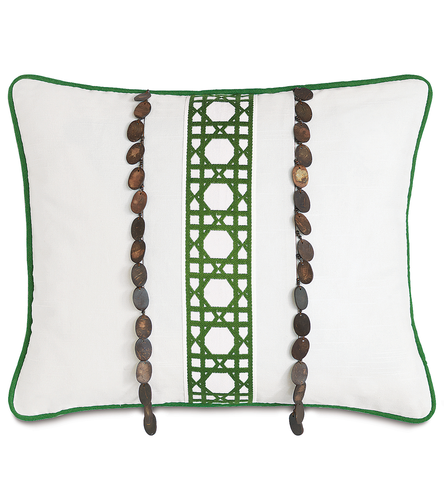 Down Decorative Pillow Forms : Luxury Bedding by Eastern Accents - Baldwin White inserts
