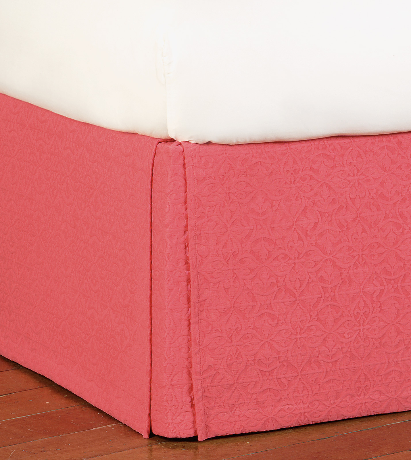 Luxury Bedding By Eastern Accents Mea Coral Bed Skirt