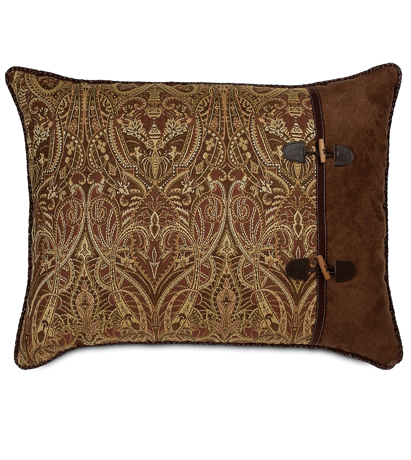 Sheffield Home Throw Pillow : Belmont Home Decor Luxury Bedding - SHEFFIELD STANDARD SHAM RIGHT Luxury Bedding, Decorative ...