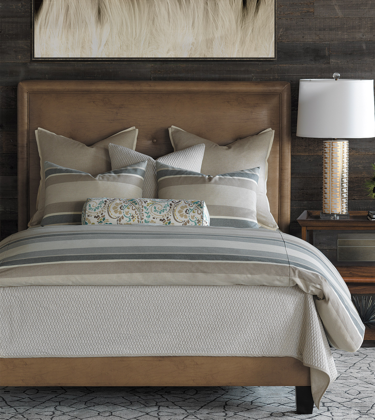 thom filicia luxury bedding by eastern accents morrison. Black Bedroom Furniture Sets. Home Design Ideas