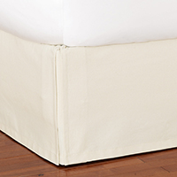 Adler Natural Bed Skirt