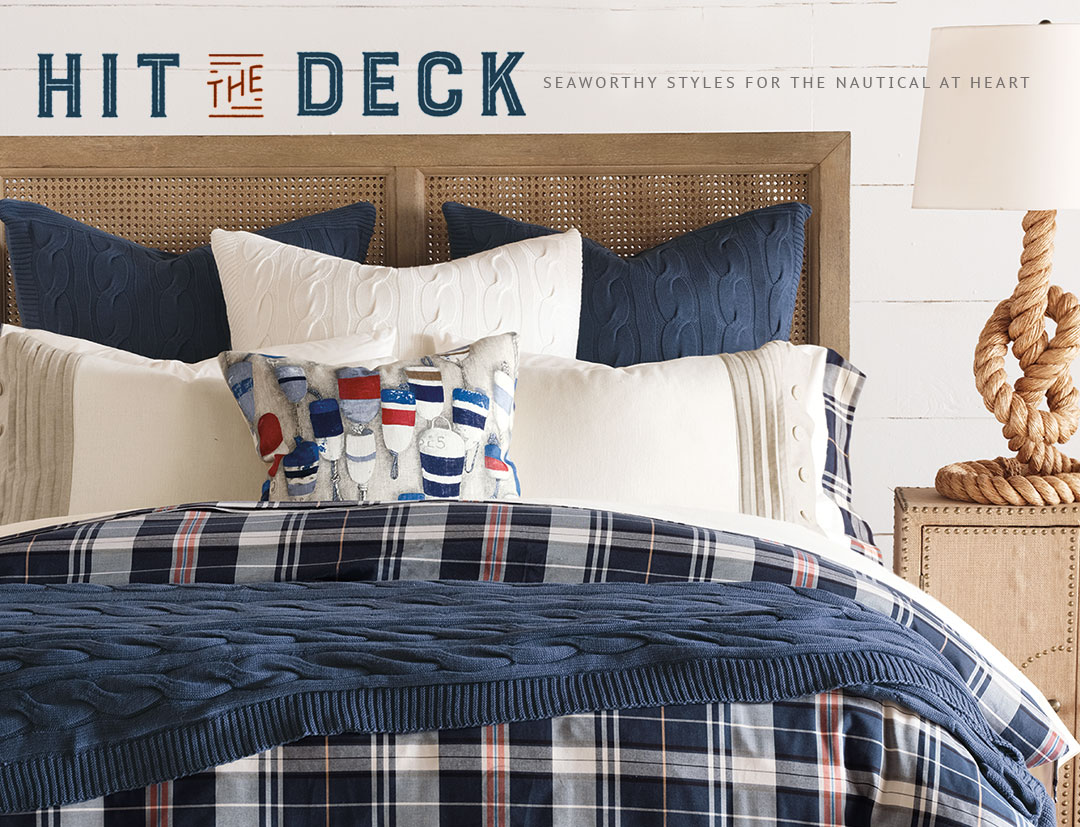 HIT THE DECK - Seaworthy Styles for the Nautical at Heart