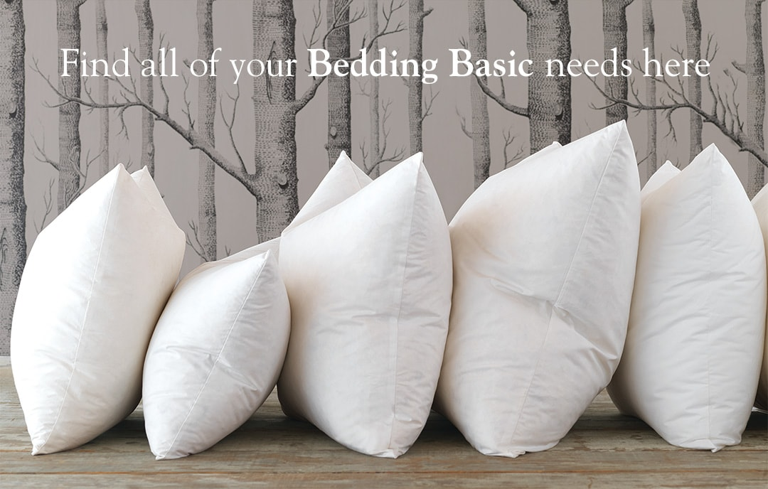 Find all of your bedding basic needs here