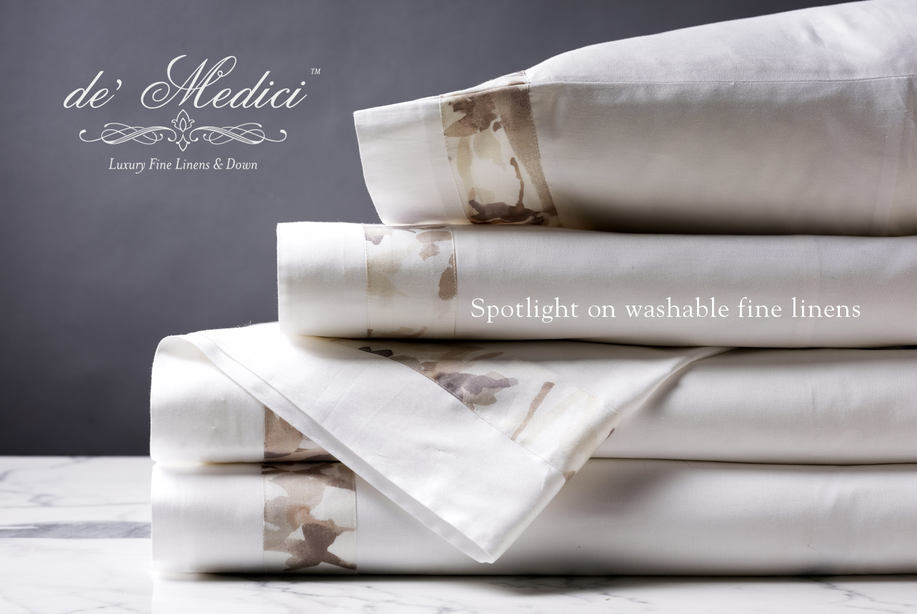 Spotlight on Washable Fine Linens